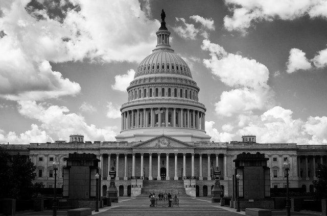 The East Front of the United States Capitol Building.