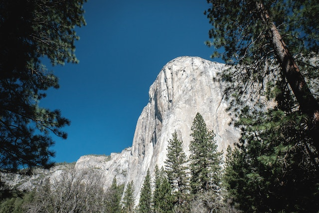 El Capitan, at Yosemite National Park.