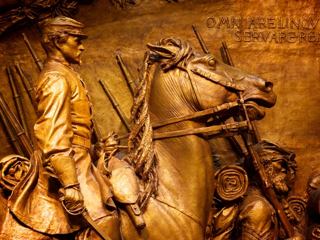 Memorial to Robert Gould Shaw and the 54th Massachusetts Volunteer Infantry Regiment, by Augustus Saint-Gaudens.