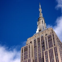 The Empire State Building.