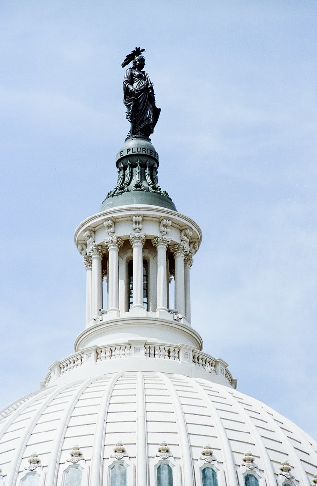 Statue of Freedom, United States Capitol.
