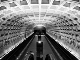 Capitol South Metro Station.