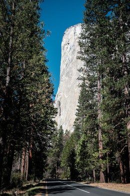 El Capitan at Yosemite National Park.