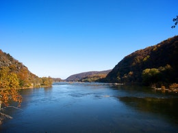 The Potomac, in Harpers Ferry, WV.