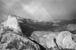 Half Dome, from Glacier Point.