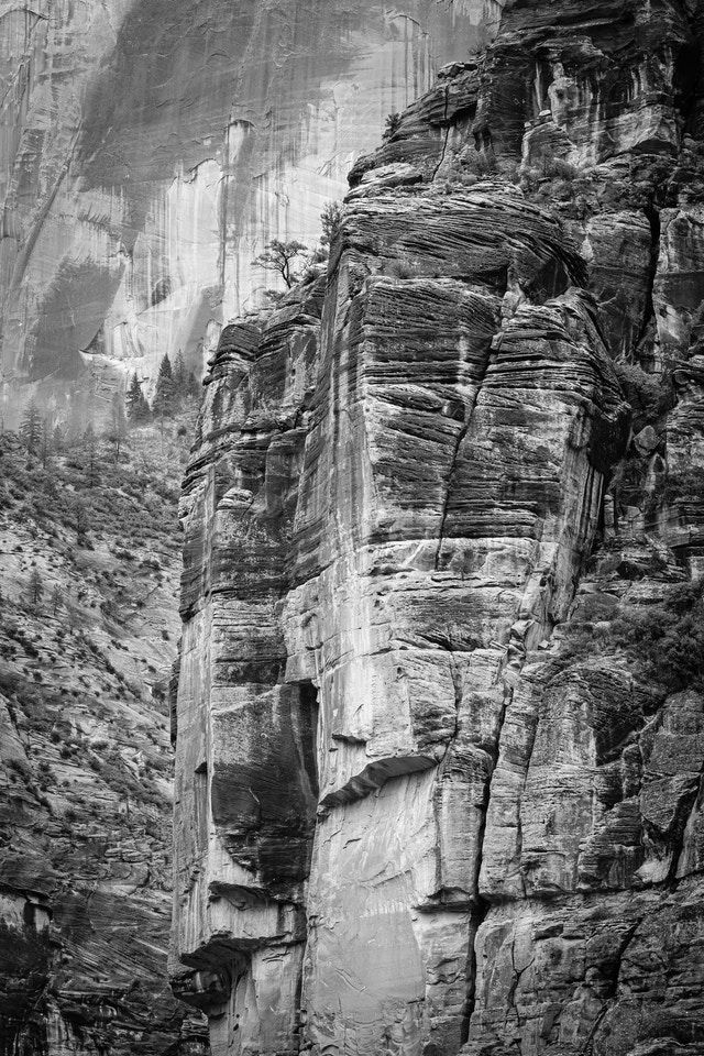 A close-up of The Organ, seen from Big Bend.
