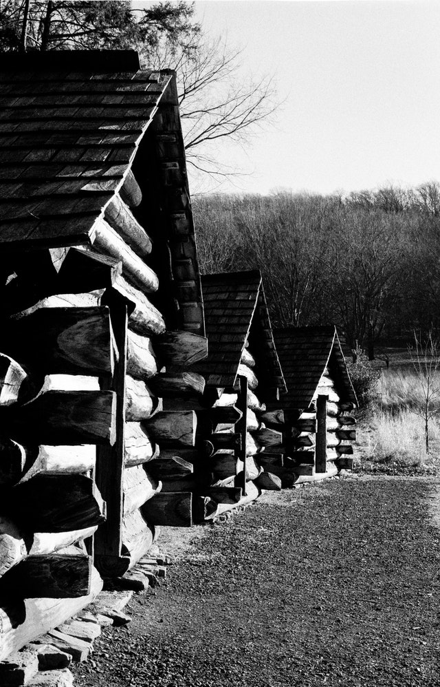 Cabins at Valley Forge.