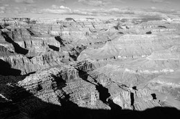 The North Rim of the Grand Canyon, seen from Hopi Point towards the northwest.